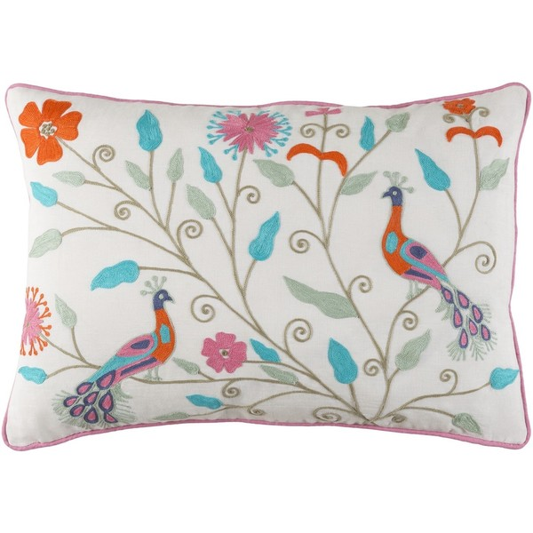 Decorative Villejuif Feather Down or Poly Filled Throw Pillow (13 x 19). Opens flyout.
