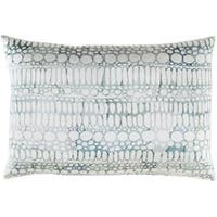 Decorative Suresnes Feather Down or Poly Filled Throw Pillow (13 x 19)