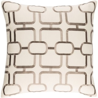 Decorative Stains 18-inch Down or Poly Filled Throw Pillow