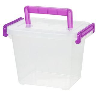 IRIS Small Modular Latching Storage Box (Pack of 8)