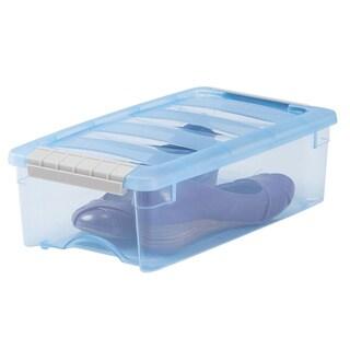 IRIS 5 qt. Stack & Pull Plastic Storage Bin (Pack of 10)