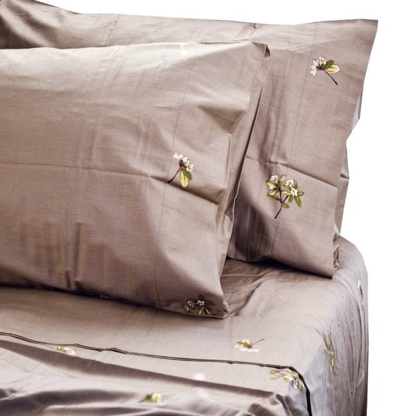 North Home Trellis Cotton Sheet Set