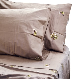 North Home Trellis Cotton Sheet Set