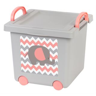 Baby Toy Plastic Storage Bin (Pack of 4)