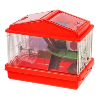 Iris USA Plastic and Wire 2-tier Hamster Cage