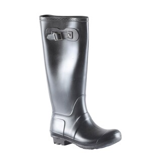 Hadari Women's Casual Fashion Everyday Flat Heel Olive Knee High Boots