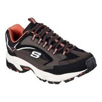 Men's Skechers Stamina Cutback Training Shoe Brown/Black