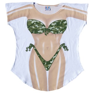 Camouflage Fantasy Women's Swimsuit Cover-up