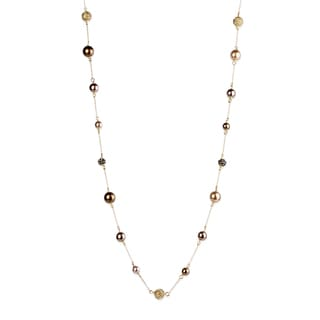 Saachi Sea Shell Pearls Chain Necklace (China)