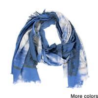Handmade Veroma Cotton Geometric Woven Scarf (India)