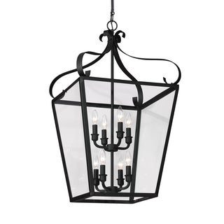 Sea Gull Lockheart 8 Light Blacksmith Hall Foyer Fixture