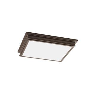 Sea Gull Decorative Drop Lens Fluorescent 4 Light Oil Rubbed Bronze Ceiling Fixture