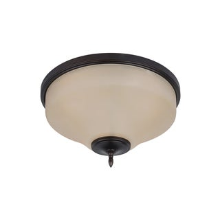 Sea Gull Montreal 3 Light Burnt Sienna Ceiling Fixture