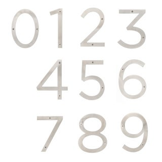 Sure-Loc Stainless-steel House Numbers