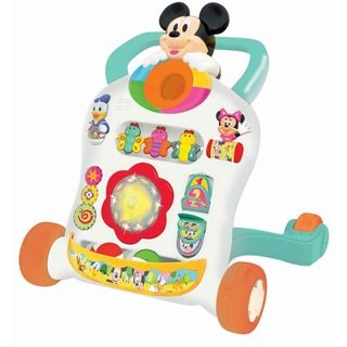 Kiddieland Unisex Disney Mickey Mouse and Friends Roll n' Go Multicolor Walker