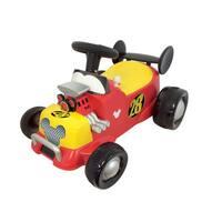 Kiddieland Disney Mickey Mouse Roadster Formula Racer Sound Activity Ride-on