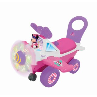 Kiddieland Disney Minnie Mouse Plane Light and Sound Activity Ride-on