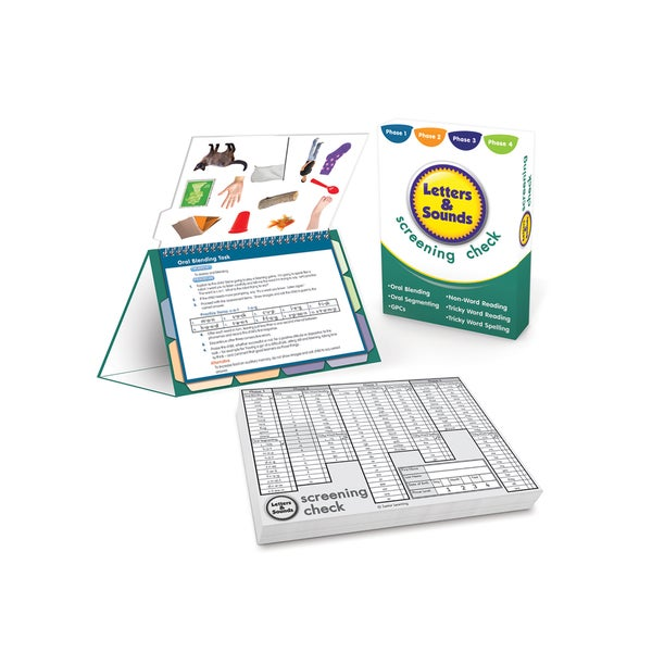 Junior Learning Letters and Sounds Screening Check Kit