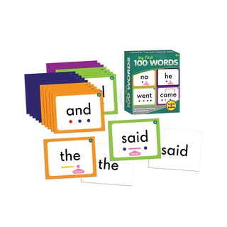 Junior Learning My First 100 Words Plastic Learning Set
