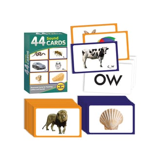 Junior Learning 44 Sound Cards Learning Set