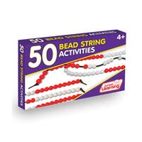 Junior Learning 50 Bead String Activities Set
