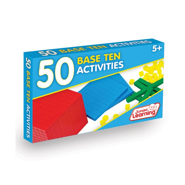 Junior Learning 50 Base Ten Activities Learning Set