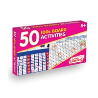 Junior Learning 50 100s Board Activities Set