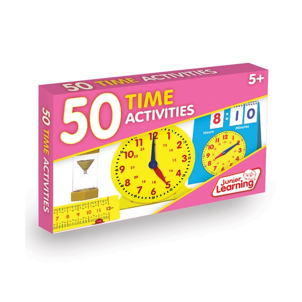 Junior Learning 50 Time Activities Learning Set