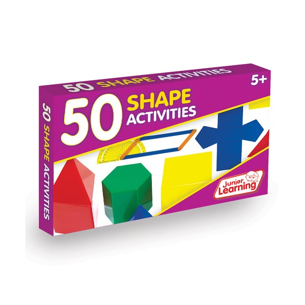 Junior Learning 50 Shape Activities Learning Set