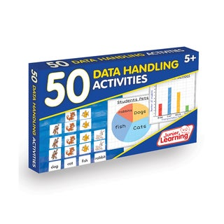 Junior Learning 50 Data Handling Activities Learning Set