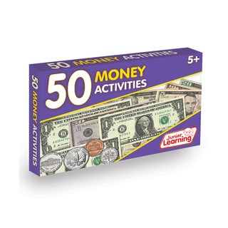 Junior Learning 50 Money Activities Learning Set