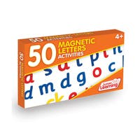 Junior Learning 50 Magnetic Letter Activities Learning Set