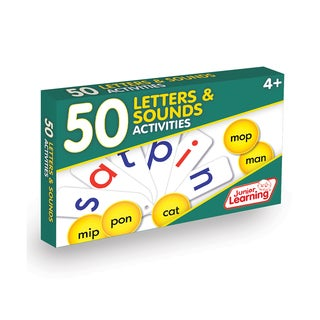 Junior Learning 50 Letters and Sounds Activities Learning Set