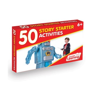 Junior Learning 50 Story Starter Activities Plastic Learning Set