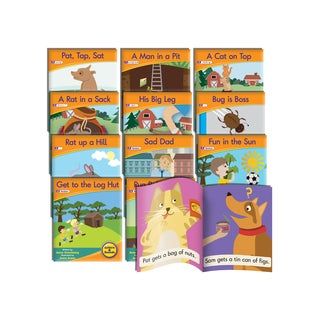Junior Learning Letter Sound Readers Fiction Learning Set