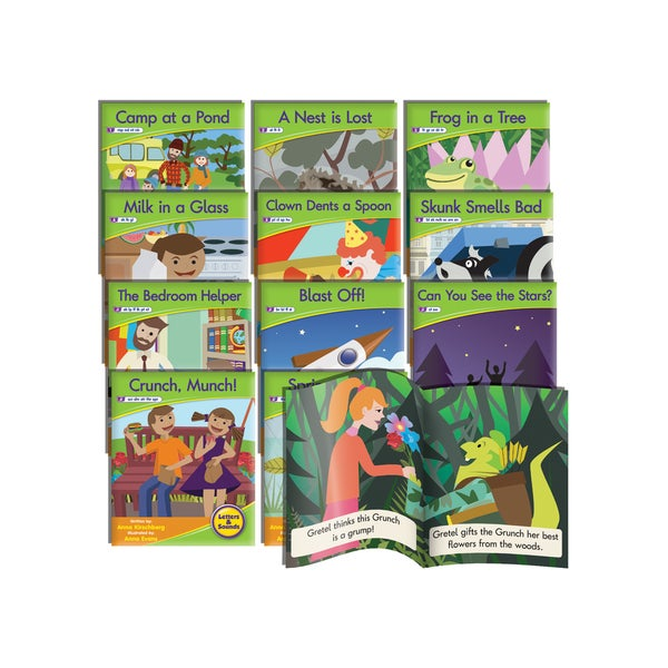 Junior Learning Blend Readers Plastic Fiction Learning Set
