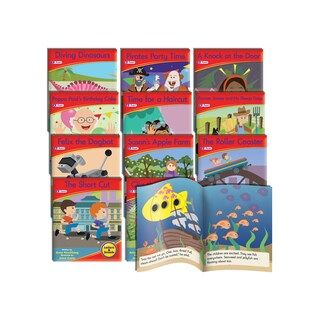 Junior Learning Spelling Readers Fiction Learning Set