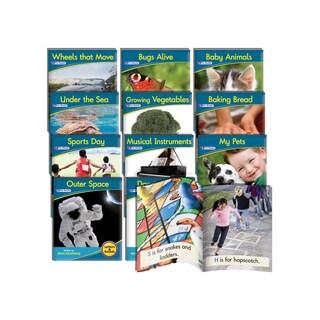 Junior Learning Phonemic Awareness Readers Non-fiction Plastic Learning Set