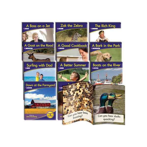Junior Learning Phonics Readers Nonfiction Learning Set