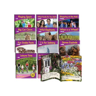 Junior Learning Vowel Sound Readers Non-fiction Learning Set