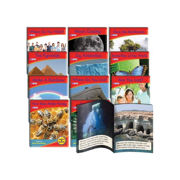 Junior Learning Spelling Readers Non-Fiction Learning Set