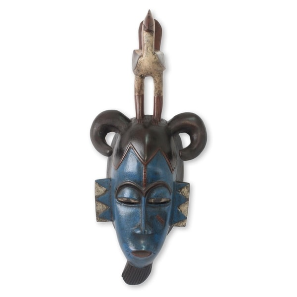 Guro Rooster African Mask (West Africa)