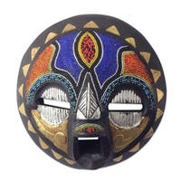 Sadaki African Wood Mask (West Africa) - multi