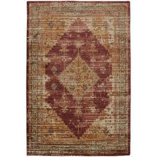 Mohawk Providence Parlin Berry Area Rug (9'6 x 12'11)