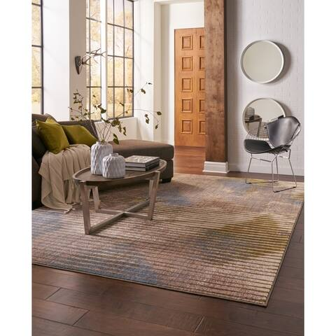 Mohawk Home Mus Wireframe Woven Area Rug