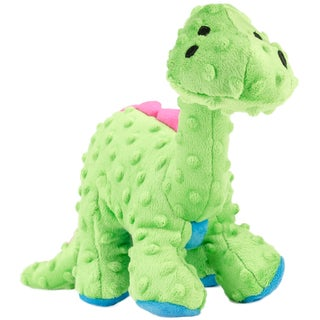 GoDog Dinos Green Bruto With Chew Guard Large