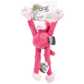 GoDog Crazy Tugs Monkey With Chew Guard Small