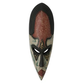 Equality in Marriage Nigerian Wood Mask (West Africa)