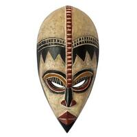 Protect My Baby Nigerian Wood Mask (West Africa)