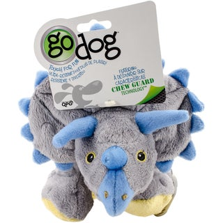 GoDog Dinos Frills With Chew Guard Large